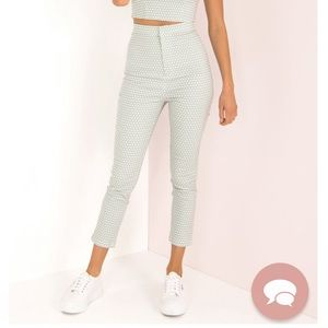 Sundae Muse Dion Pants in Mint